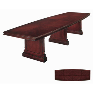Keswick+10'+Boat+Shaped+Conference+Table