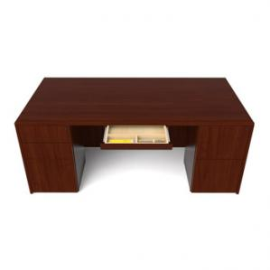 Cherryman Ruby Double Pedestal Desk