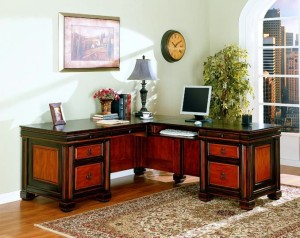 Traditional Multi L-Desk