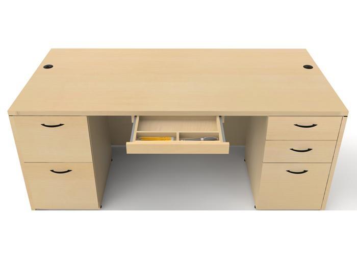 "Cherryman Amber 66"" Rectangular Desk"