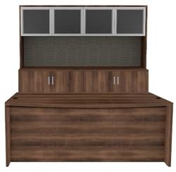 Cherryman Amber Series Desk and Credenza Configuration