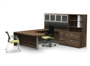 Cherryman Amber Series Contemporary Office Furniture Set