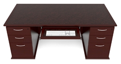 Cherryman Emerald Straight Front Executive Desk