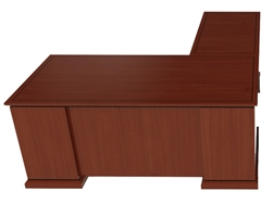 Cherryman Emerald Straight Front L-Desk