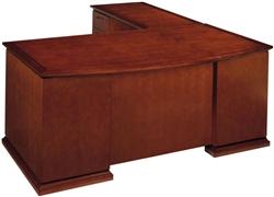 Cherryman Emerald Bowfront L-Desk