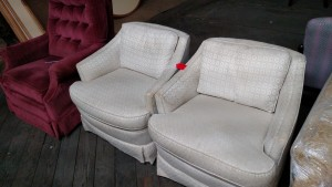 White Guest Chairs